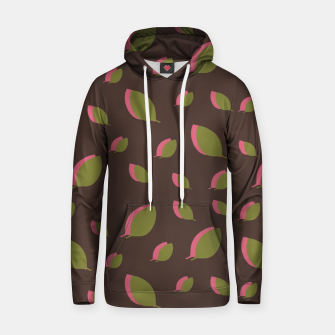 Thumbnail image of Autumn leaves green brown Hoodie, Live Heroes