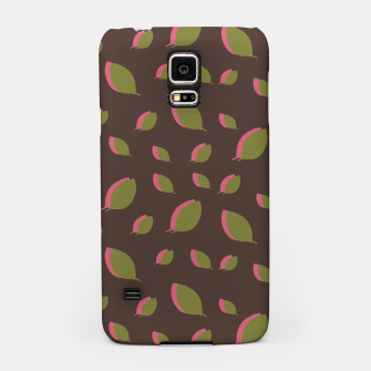 Thumbnail image of Autumn leaves green brown Samsung Case, Live Heroes
