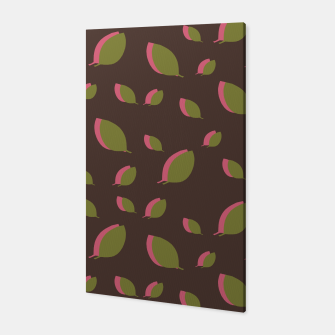 Thumbnail image of Autumn leaves green brown Canvas, Live Heroes