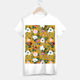 Garden pastel flowers T-shirt regular thumbnail image