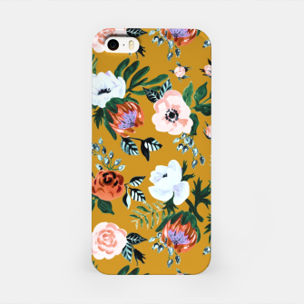 Garden pastel flowers iPhone Case obraz miniatury