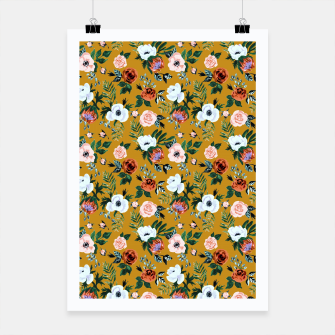 Thumbnail image of Garden pastel flowers Poster, Live Heroes