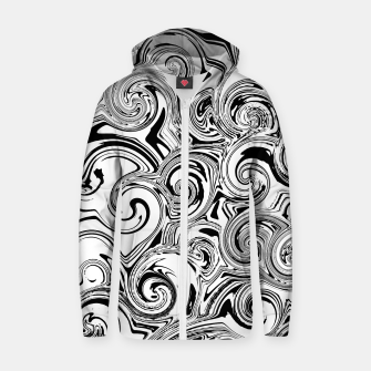 Thumbnail image of barely swirls zipped hoody, Live Heroes
