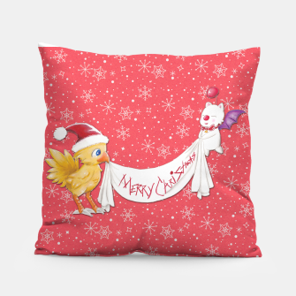Thumbnail image of Fantasy Xmas~ Final Fantasy Pillow, Live Heroes