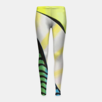 Memphis thoughts Girl's leggings thumbnail image