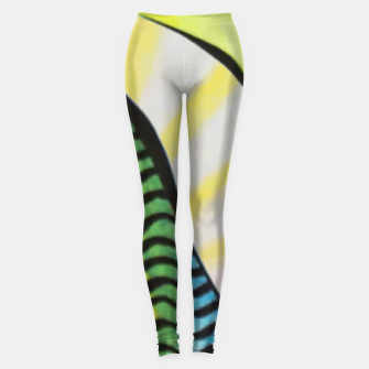 Thumbnail image of Memphis thoughts Leggings, Live Heroes