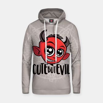 Thumbnail image of Cute But Evil Hoodie, Live Heroes