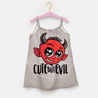 Cute But Evil Girl's dress Bild der Miniatur