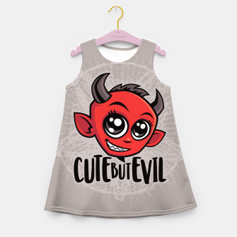 Miniatur Cute But Evil Girl's summer dress, Live Heroes