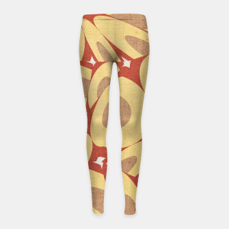 Thumbnail image of Minimalist Geometric Art Girl's leggings, Live Heroes