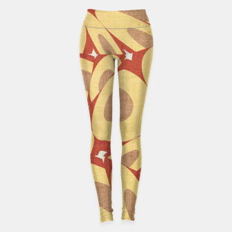 Thumbnail image of Minimalist Geometric Art Leggings, Live Heroes