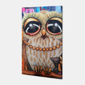 Thumbnail image of Owl bird of prey     Canvas, Live Heroes