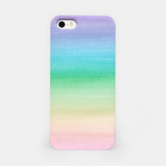 Imagen en miniatura de Pastel Unicorn Rainbow Watercolor Dream #1 #painting #decor #art iPhone-Hülle, Live Heroes