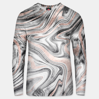 Bohemian Marble Dream #2 #decor #art Unisex sweatshirt obraz miniatury