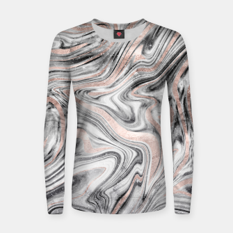 Bohemian Marble Dream #2 #decor #art Frauen sweatshirt obraz miniatury