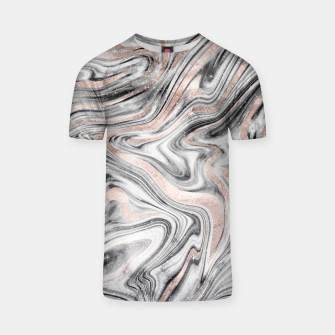 Bohemian Marble Dream #2 #decor #art T-Shirt obraz miniatury