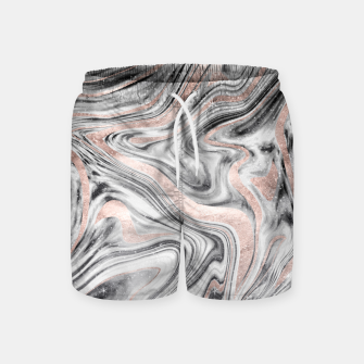 Bohemian Marble Dream #2 #decor #art Badeshorts obraz miniatury