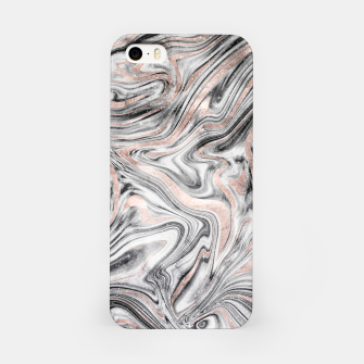 Bohemian Marble Dream #2 #decor #art iPhone-Hülle obraz miniatury
