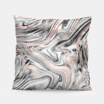 Bohemian Marble Dream #2 #decor #art Kissen obraz miniatury