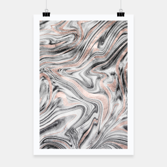 Bohemian Marble Dream #2 #decor #art Plakat obraz miniatury