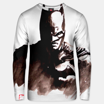 Thumbnail image of batman Unisex sweater, Live Heroes