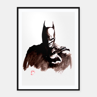 Thumbnail image of batman Framed poster, Live Heroes