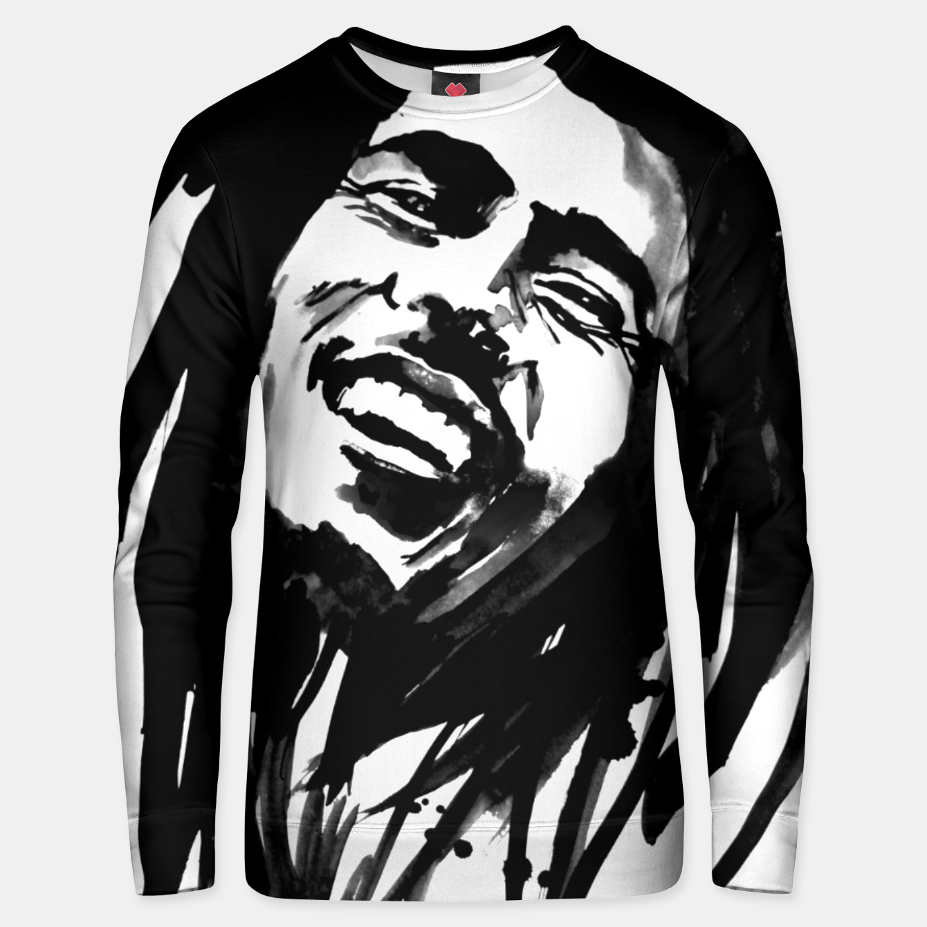 Image of bob marley Unisex sweater - Live Heroes