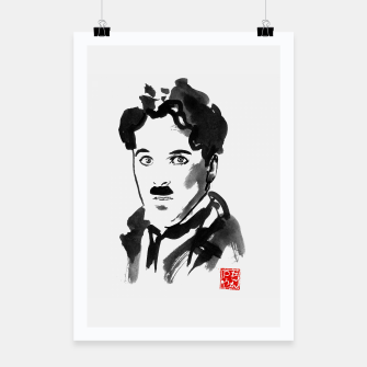 Thumbnail image of charlie chaplin Poster, Live Heroes