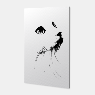 white cat Canvas thumbnail image