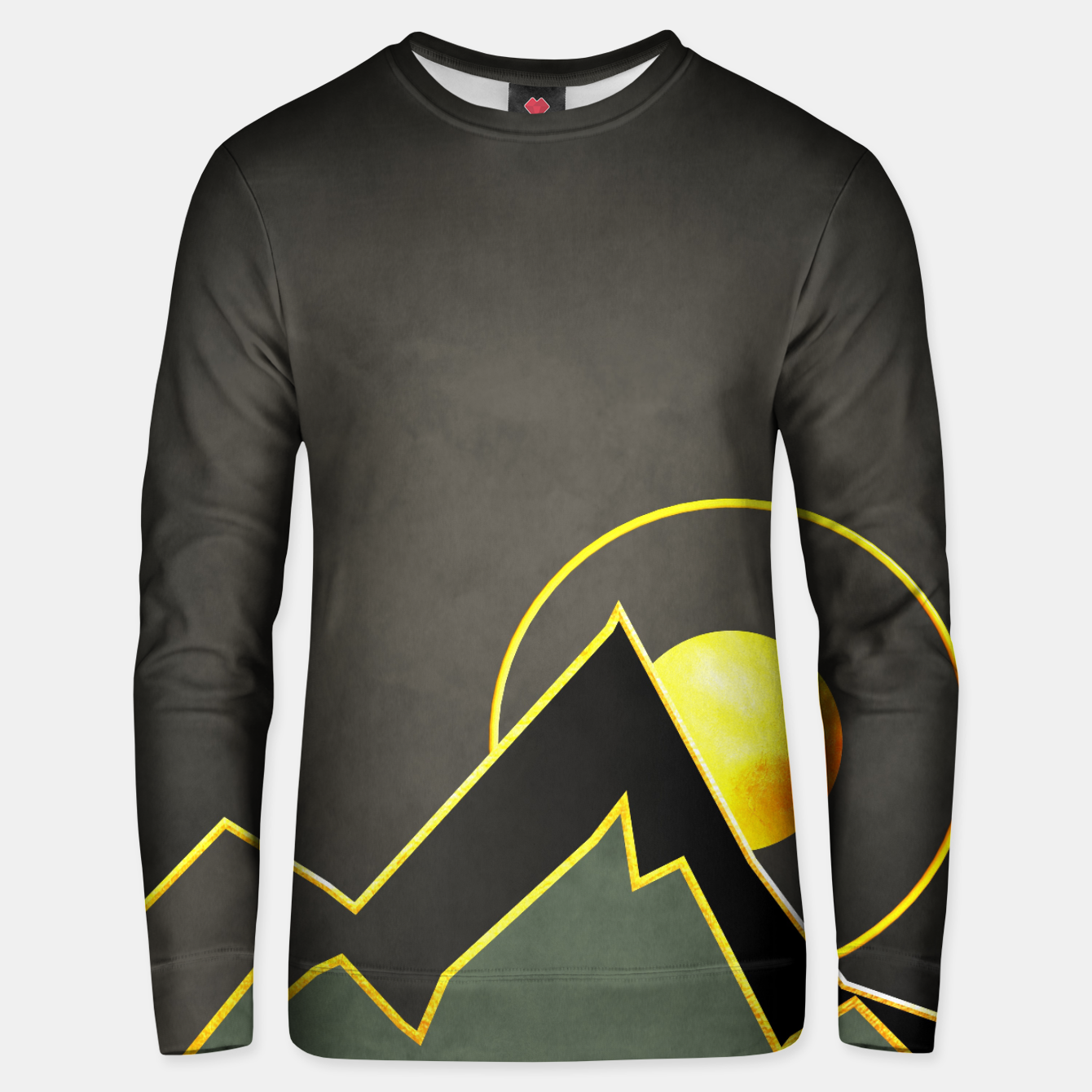 Image of Mountains Unisex sweater - Live Heroes