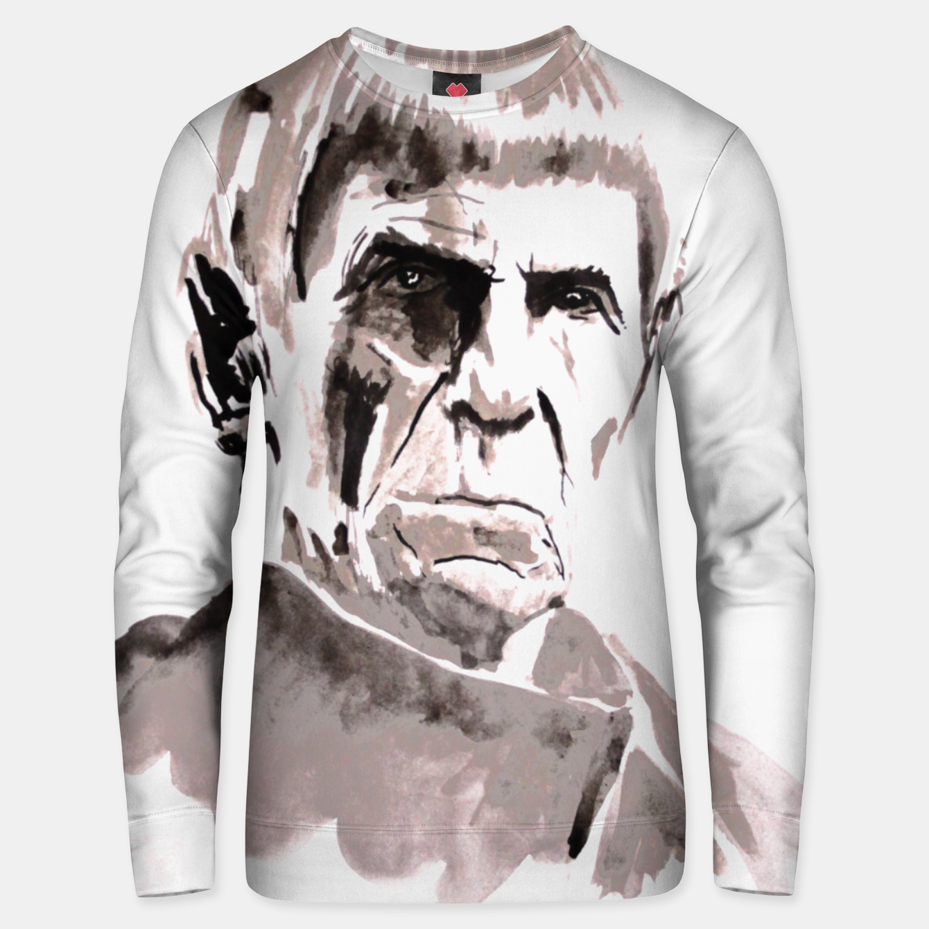 Image of spock Unisex sweater - Live Heroes