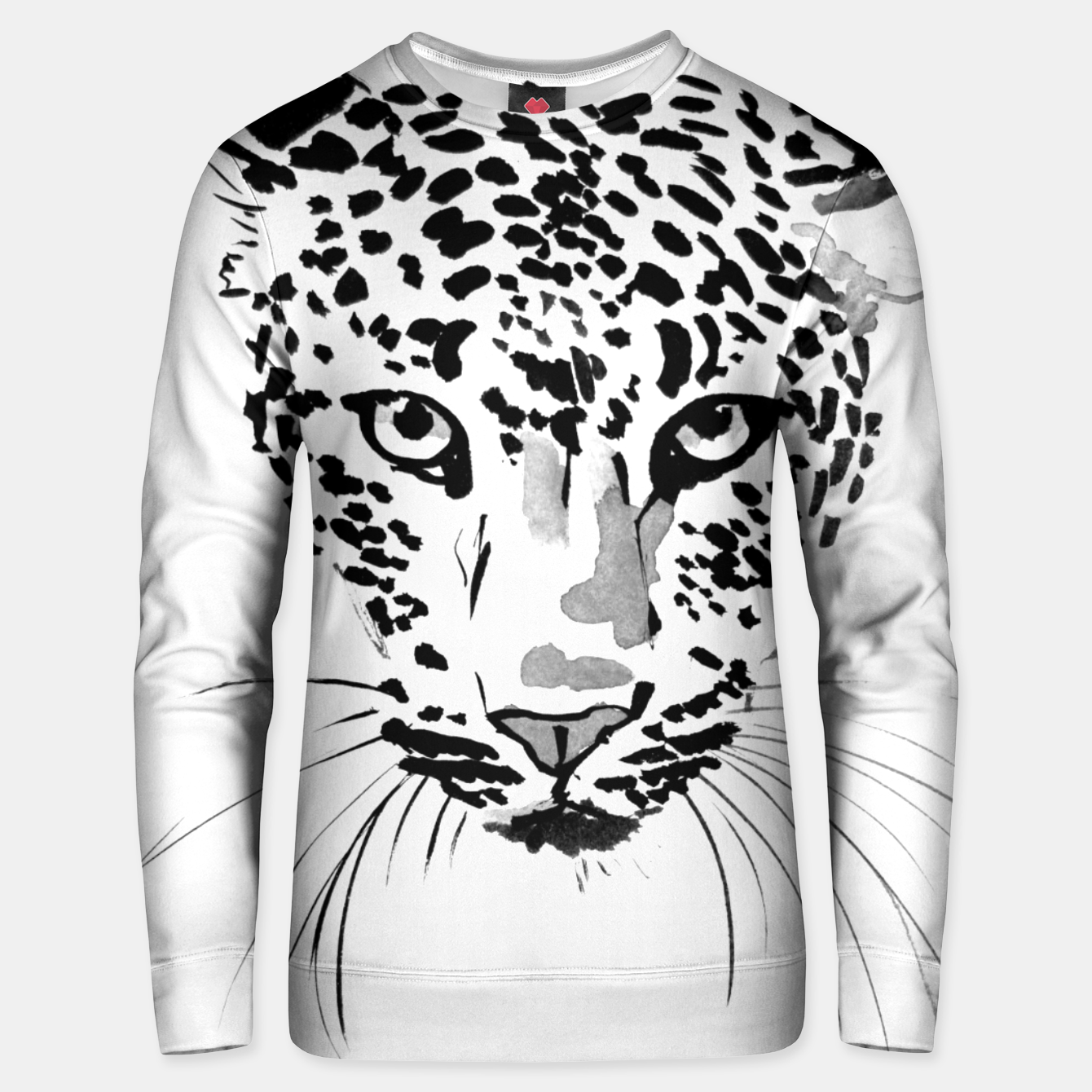 Image of leopard Unisex sweater - Live Heroes