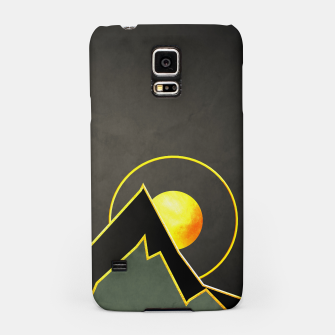 Miniatur Mountains Samsung Case, Live Heroes