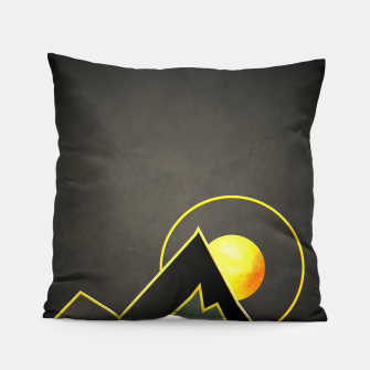 Miniatur Mountains Pillow, Live Heroes