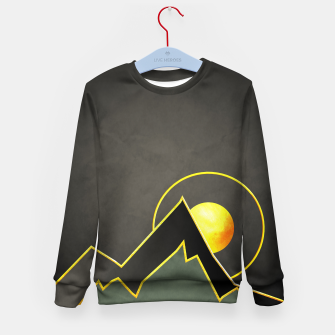 Thumbnail image of Mountains Kid's sweater, Live Heroes