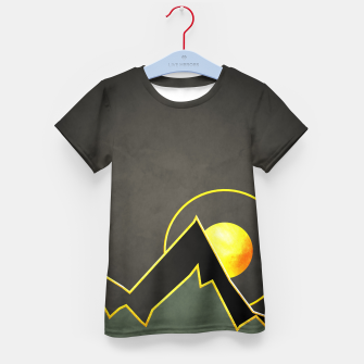 Thumbnail image of Mountains Kid's t-shirt, Live Heroes