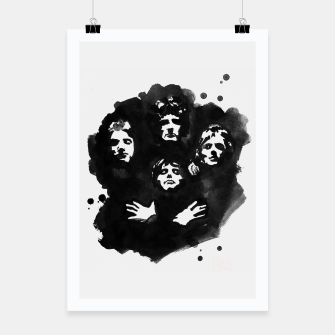Thumbnail image of queen Poster, Live Heroes