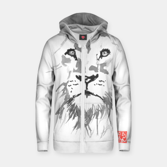 lion Zip up hoodie thumbnail image