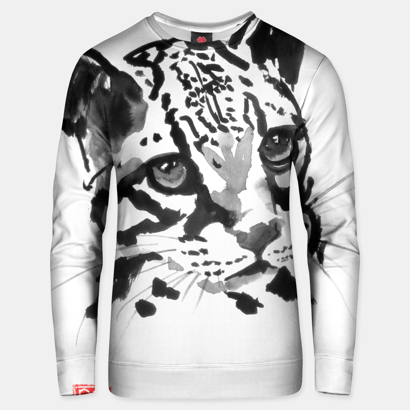 Image of baby leopard Unisex sweater - Live Heroes