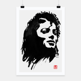 Thumbnail image of michael jackson Poster, Live Heroes