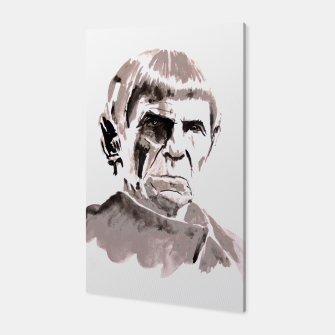 Thumbnail image of spock Canvas, Live Heroes