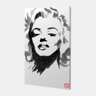Thumbnail image of marilyn monroe Canvas, Live Heroes