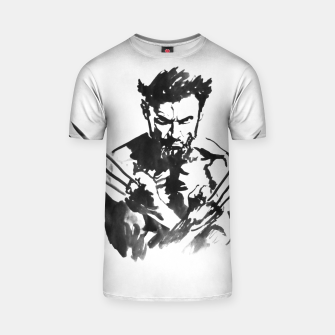 Thumbnail image of wolverine T-shirt, Live Heroes