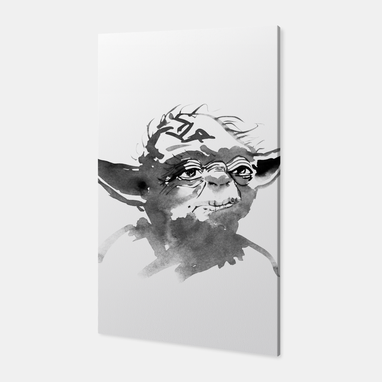 Image of yoda Canvas - Live Heroes