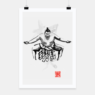 Thumbnail image of sumo Poster, Live Heroes