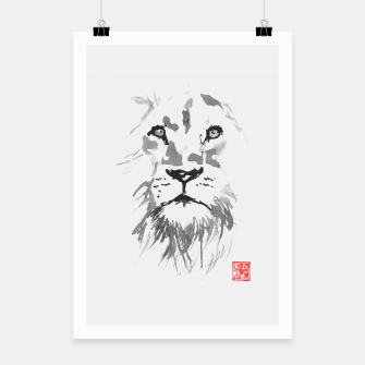 Thumbnail image of lion Poster, Live Heroes
