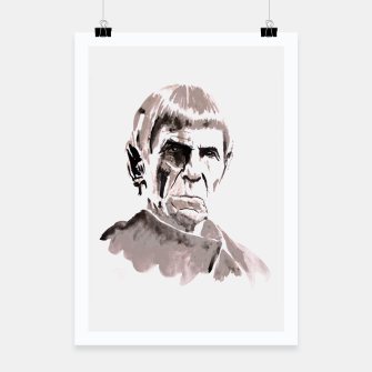 Thumbnail image of spock Poster, Live Heroes