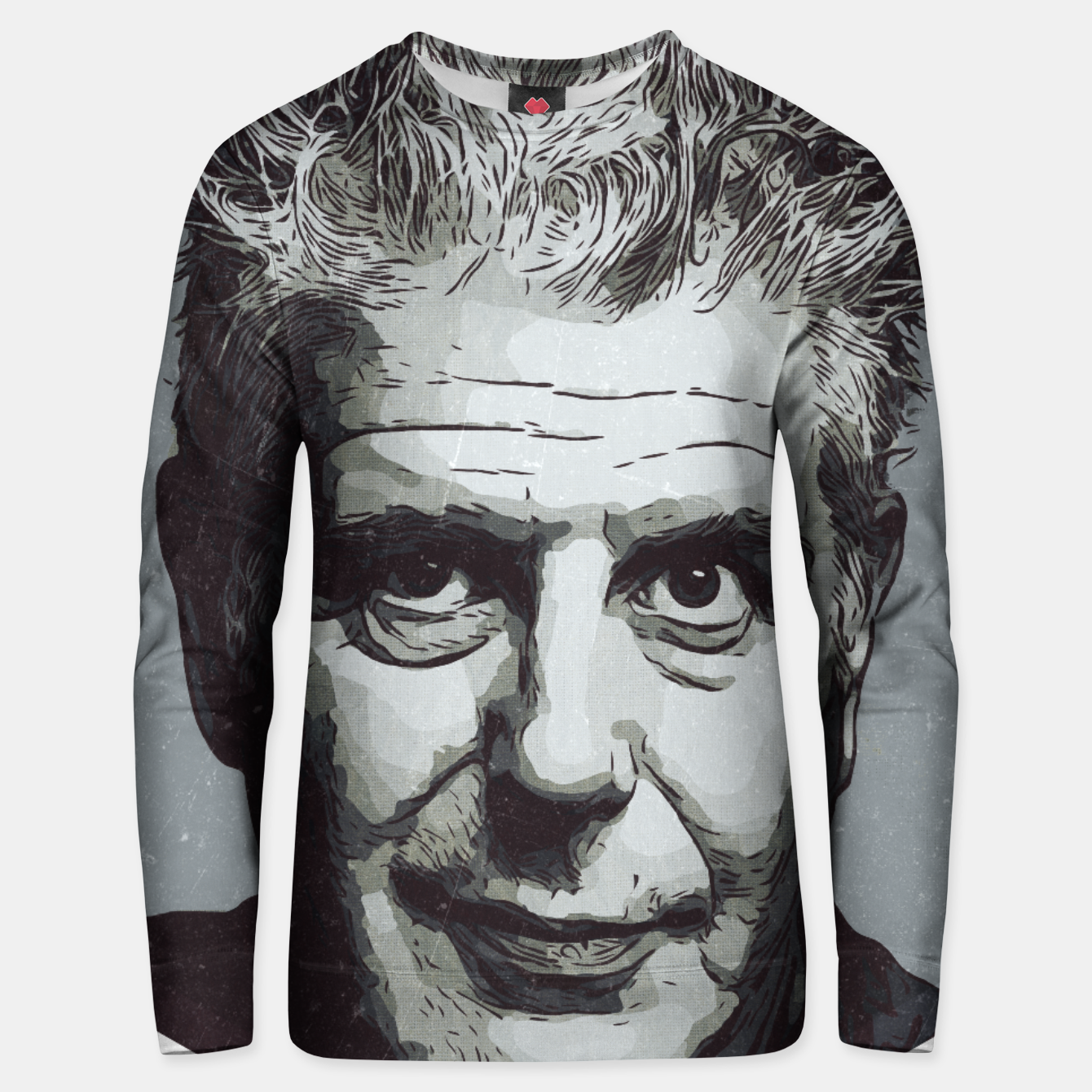 Image of Anthony Bourdain Artwork Unisex sweater - Live Heroes