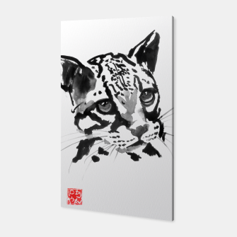 Thumbnail image of baby leopard Canvas, Live Heroes