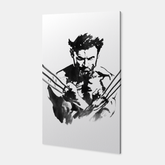 Thumbnail image of wolverine Canvas, Live Heroes